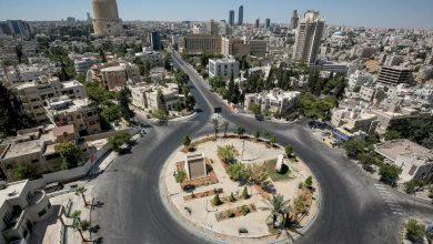 صورة انفجار في مستودع للذخيرة شرقي مدينة الزرقاء الأردنية ولا إصابات
