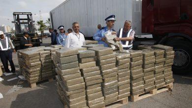 صورة العرائش.. إجهاض عملية للتهريب الدولي للمخدرات وحجز طن و20 كلغ من مخدر الشيرا (بلاغ)