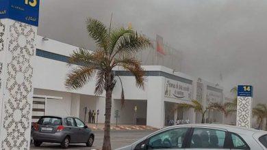 """صورة الرباط.. الحريق بالمركز التجاري """"مرجان حي الرياض"""" خلف أضرارا مادية خفيفة"""
