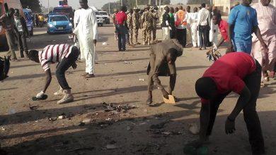 صورة مقتل 15 عنصرا أمنيا نيجيريا في كمين نصبه إرهابيون شمال البلاد