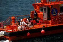"""صورة سفينة اسبانية تنقذ 15 """"حراكا"""" مغربيا في """"بحر البوران"""""""