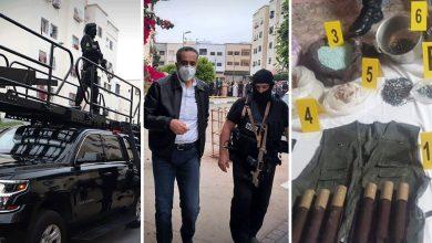 صورة بالتفاصيل ولحظة بلحظة هكذا تمت عملية تفكيك الخلايا الإرهابية بمدينة تمارة وإفشال مخططهم الإرهابي