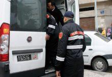 صورة فرقة الشرطة القضائية بمنطقة أمن المهدية تلقي القبض على فرد من شبكة إجرامية تنشط في مجال السرقة