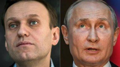 صورة نافالني يحض الاتحاد الأوروبي على حظر دخول المقرّبين من بوتين