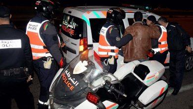 صورة موظف شرطة يضطر لاستعمال سلاحه الوظيفي لتوقيف جانح عرض أمن المواطنين للخطر بالبيضاء
