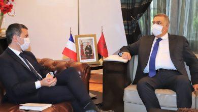 صورة وزير الداخليةالفرنسييأمر بترحيل 9 متطرفين مغاربة من البلاد
