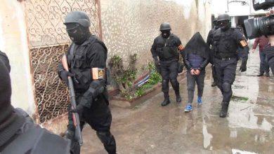 """صورة عاجل.. تفكيك خلية إرهابية بمدينة طنجة موالية لتنظيم """"داعش"""" مكونة من 4 أشخاص"""