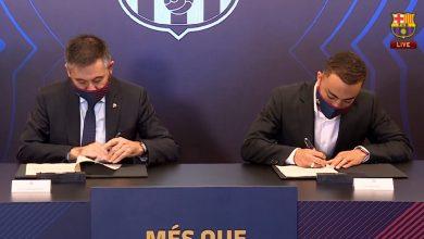 صورة الليغا .. نادي برشلونة يقدم رسميا الامريكي سيرجينيو ديست القادم من صفوف أجاكس أمستردام