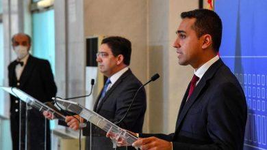 صورة اللقاء بين وزيري خارجية المغرب وإيطاليا، تأكيد على الصداقة العريقة بين البلدين