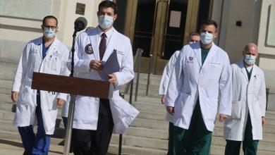 صورة طبيب ترامب يؤكد شفاءه التام من فيروس كورونا