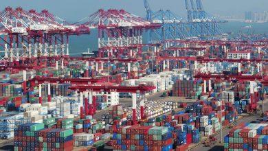 صورة انتعاش التجارة الخارجية للصين في الفصل الثالث من العام الجاري