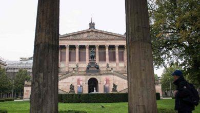 صورة عمليات تخريب غامضة طالت متاحف في برلين خلال يوم واحد