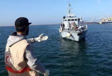 """صورة انقاذ 16 """"حراكا"""" مغربيا في سواحل مدينة سبتة المحتلة"""