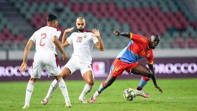 صورة بالصور.. الأسود تكتفي بالتعادل في المباراة الودية الثانية أمام الكونغو الديمقراطية