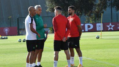 صورة بالصور.. المنتخب المغربي يجري أولى حصص التدريبية تاهبا لمواجهة السنغال والكونغو الديمقراطية