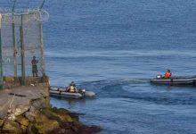"""صورة الحرس المدني يعثر على جثة مغربي في شاطئ """"لاريبيرا"""" بسبتة المحتلة"""