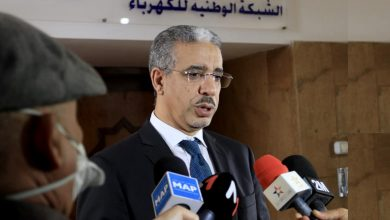 صورة مراكش .. رباح يطلع على حسن سير شبكة التزويد بالكهرباء