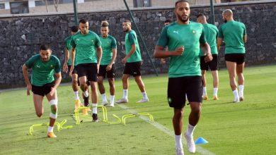 صورة بالفيديو.. آخر استعدادات المنتخب المغربي قبل خوض المباراتين الوديتين + تصريحات اللاعبين