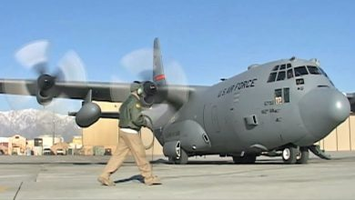 """صورة الجيش المغربي يعزز ترسانتهبطائرات """"هيركوليس C-130H"""" الأمريكية"""