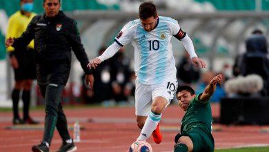 صورة انفعال شديد من ميسي عقب مباراة الأرجنتين ضد بوليفيا (فيديو)