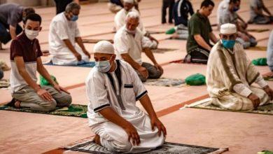 صورة استئناف صلاة الجمعة في عشرة آلاف مسجد بالمغرب