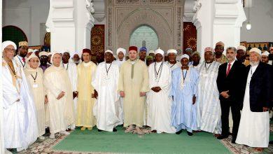 صورة في ندوة افتراضية العمراني يستعرض ببريتوريا النموذج الإسلامي المغربي