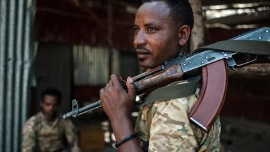 صورة استهداف أسمرة بالصواريخ بعد إعلان حكومة إثيوبيا النصر في تيغراي