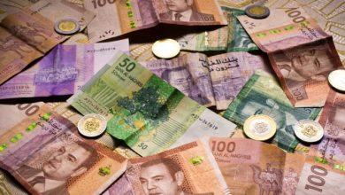 صورة ارتفاع سعر صرف الدرهم أمام الدولار ب0,36 في المائة