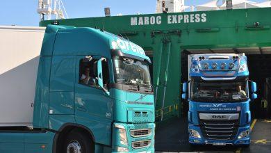صورة فرض اسبانيا لغرامات مالية على الشاحنات المغربية يهدد حركة المرور بميناء الجزيرة الخضراء