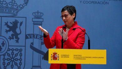 """صورة وزيرة الشؤون الخارجية الإسبانية: ندعو إلى حل """"سياسي وعادل"""" في قضية الصحراء"""