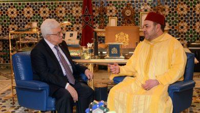 صورة محمود عباس: المغرب ملتزم بالقضية الفلسطينية وبنضال الشعب الفلسطيني