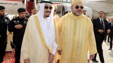 صورة برقية تهنئة إلى جلالة الملك من خادم الحرمين الشريفين بمناسبة عيد الاستقلال