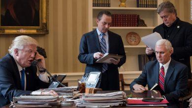 صورة نيويورك تايمز: ترامب وإمكانية ضرب موقع نووي إيراني