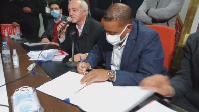 صورة رضوان حنيش رئيسا جديدا لفارس النخيل