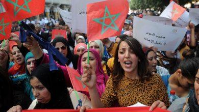 """صورة مغاربة فالينسيا يستنكرون همجية عصابات """"بوليساريو"""" ويؤكدون تشبتهم بمغربية الصحراء"""