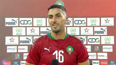 صورة لاعب المنتخب المغربي أيمن برقوق يصاب بفيروس كورونا المستجد