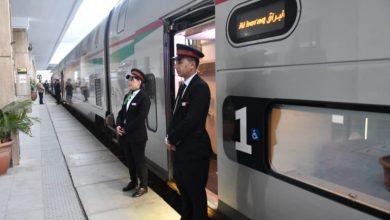 """صورة قطار """"البراق"""" المغربي يطفئ شمعته الثانية"""