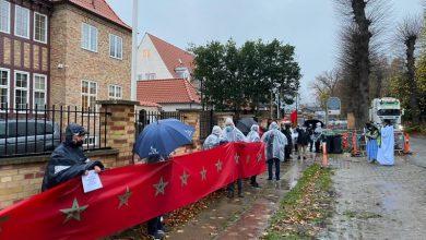 صورة في الدنمارك.. أمام عزيمة الوطنيين تتبدد الأباطيل