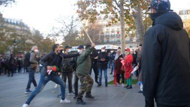 صورة مسيرة بباريس… اعتداء موالين للبوليساريو على مغربيات يصل للقضاء الفرنسي