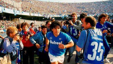 """صورة رسميا.. ملعب نابولي يحمل إسم الأسطورة """"دييغو أرماندومارادونا"""""""