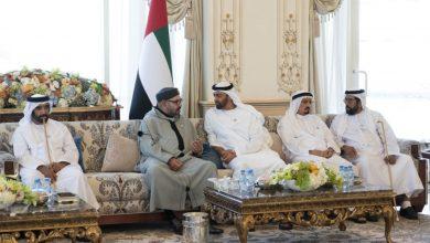 صورة جلالة الملك يهنئ رئيس دولة الإمارات العربية المتحدة بمناسبة العيد الوطني لبلاده