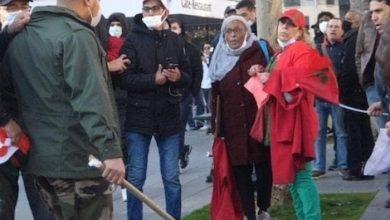صورة هكذا اعتدى انفصاليون ونشطاء جزائريين على مغربيات بباريس